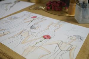 Croquis robe marié 4 Sara Roces Buelga